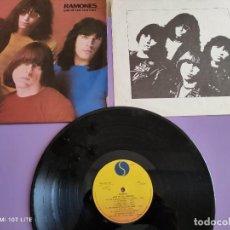 Discos de vinilo: JOYA LP ORIGINAL PUNK. RAMONES - END OF THE CENTURY - SRK 6077 NP. PORTUGAL. SIRE 1980 CON LETRAS. Lote 260579450