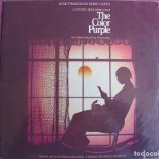 Discos de vinilo: LP - THE COLOR PURPLE - MUSIC BY QUINCY JONES (DOBLE DISCO, USA, QWEST RECORDS 1985). Lote 260579855