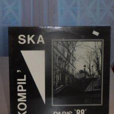 Disques de vinyle: LP KOMPIL' SKA- PARIS 88- SQUALE RECORDS. CON LETRAS.. Lote 260583120