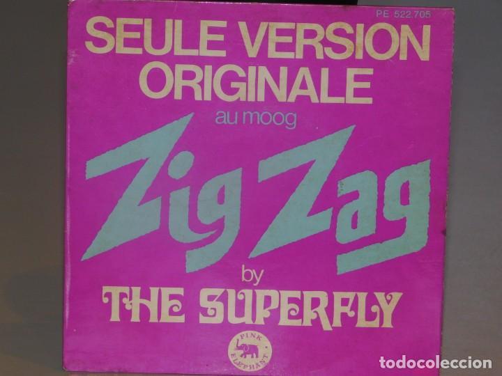 SINGLE SUPERFLY- ZIG ZAG- 1973 PINK ELEPHANT. (Música - Discos - Singles Vinilo - Electrónica, Avantgarde y Experimental)