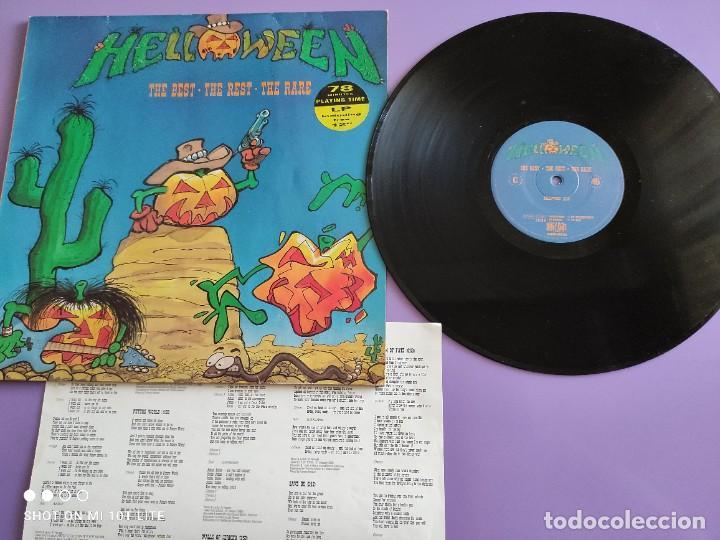MAXI HELLOWEEN. THE BEST. THE REST. THE RARE. HALLOWEEN 13:10. KEEPER OF THE SEVEN KEYS 13:30. (Música - Discos de Vinilo - Maxi Singles - Heavy - Metal)
