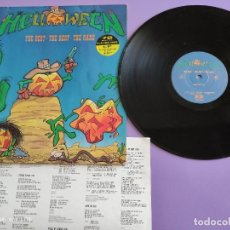 Discos de vinilo: MAXI HELLOWEEN. THE BEST. THE REST. THE RARE. HALLOWEEN 13:10. KEEPER OF THE SEVEN KEYS 13:30.. Lote 260602105