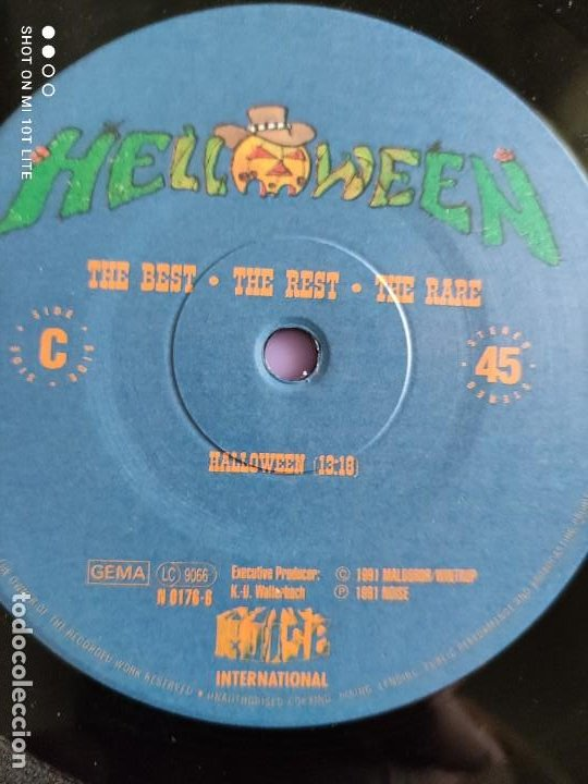 Discos de vinilo: MAXI HELLOWEEN. THE BEST. THE REST. THE RARE. HALLOWEEN 13:10. KEEPER OF THE SEVEN KEYS 13:30. - Foto 9 - 260602105