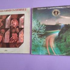 Discos de vinilo: LOTE 2 LPS. BACHMAN TURNER OVERDRIVE II ( ORIGINAL UK 1974 ) /FREEWAYS ( ORIGINAL UK 1977 ). Lote 260605455