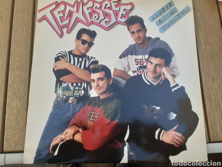 LP DE TENNESSE LLUEVE EN MI CORAZÓN COMO NUEVO (Música - Discos - LP Vinilo - Grupos Españoles de los 90 a la actualidad)
