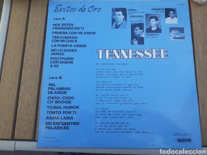 Discos de vinilo: Lp de Tennessee éxitos de oro como nuevo - Foto 2 - 260640455