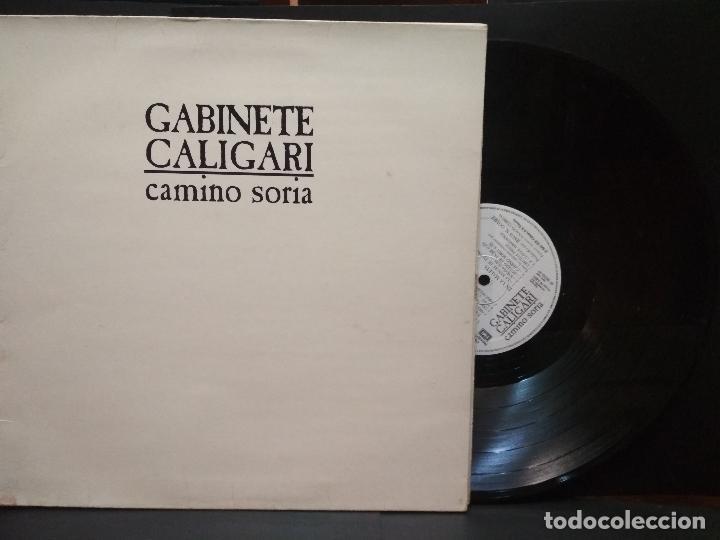 LP GABINETE CALIGARI, CAMINO A SORIA, 1987, DOBLE PORTADA PEPETO (Música - Discos - LP Vinilo - Grupos Españoles de los 70 y 80)