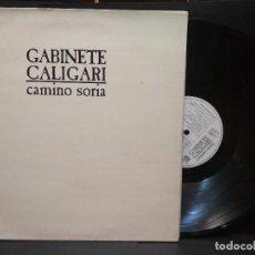Disques de vinyle: LP GABINETE CALIGARI, CAMINO A SORIA, 1987, DOBLE PORTADA PEPETO. Lote 260666340