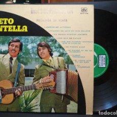 Discos de vinilo: DUETO CENTELLA – AMIGOS ME ACUERDO LP DLV 186 PROMO MEXICO PEPETO. Lote 260676795
