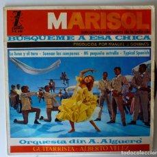Discos de vinilo: MARISOL // BUSQUEME A ESA CHICA+3// 1964 // EP. Lote 260677370