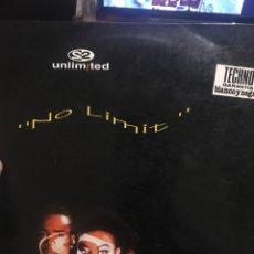 Discos de vinilo: 2 UNLIMITED . RARO . BLANCO Y NEGRO MUSIC !! EN LP ! 1993 ! NUEEEBO. Lote 260694615