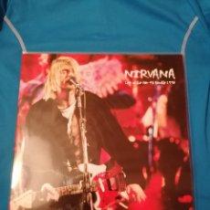 Discos de vinilo: LP NIRVANA LIVE AT THE PIER 48 SEATTLE 1993 VINILO 180G NUEVO. Lote 260694765