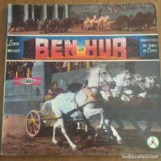 Discos de vinilo: BEN-HUR LP DISCOTECA PAX 1961 ENVIO CERTIFICADO GRATUITO EN PENINSULA PARA PEDIDOS+30€. Lote 260698615