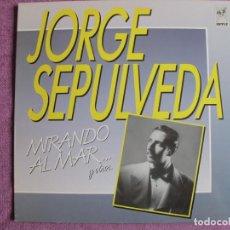 Discos de vinilo: LP - JORGE SEPULVEDA - MIRANDO AL MAR Y OTROS (SPAIN, EMI NIPPER 1988). Lote 260700890