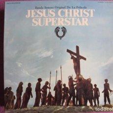 Discos de vinil: LP - JESUS CHRIST SUPERSTAR - VARIOS (DOBLE DISCO, SPAIN, MCA RECORDS 1974, CONTIENE LIBRETO). Lote 260703115