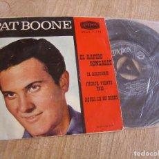 Discos de vinilo: PAT BOONE. -EL RÁPIDO GONZÁLEZ- 1962. PROBADO.. Lote 253681470