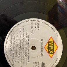 Discos de vinilo: TECHNOTRONIC – TRIP ON THIS! - THE REMIXES. DISCO VINILO. ESTADO VG+ (NO COVER). Lote 260705960