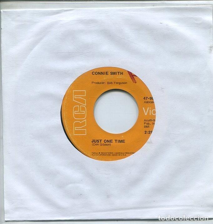 CONNIE SMITH / JUST ONE TIME / DON'T WALK AWAY (SINGLE RCA USA) (Música - Discos - Singles Vinilo - Country y Folk)
