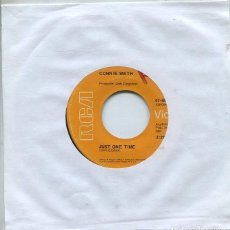 Discos de vinilo: CONNIE SMITH / JUST ONE TIME / DON'T WALK AWAY (SINGLE RCA USA). Lote 260719515