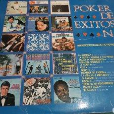 Discos de vinilo: EXITOS DE POKER NÚMERO 1 1968 DISCOS COLISEVM COLECCIONISMO ANTIGÜEDADES. Lote 260720270