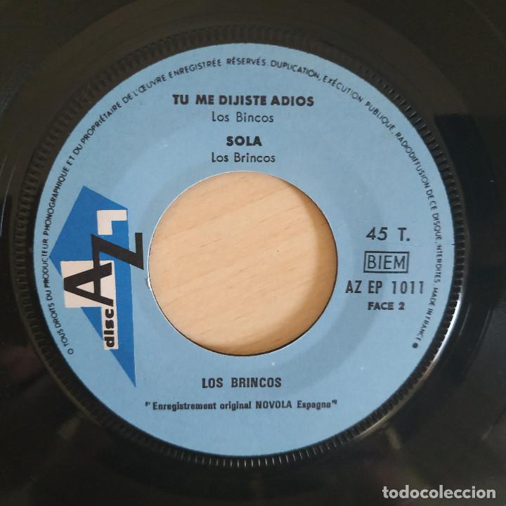 Discos de vinilo: LOS BRINCOS - BORRACHO - RARO EP EDITADO EN FRANCIA AÑO 1965 CON LENGÜETA ORIGINAL ESTADO COMO NUEVO - Foto 4 - 260723070
