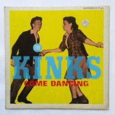 "Discos de vinilo: 12"" 45"" MAXI KINKS ""COME DANCING"" 1983 VG+ VG+. Lote 260734915"