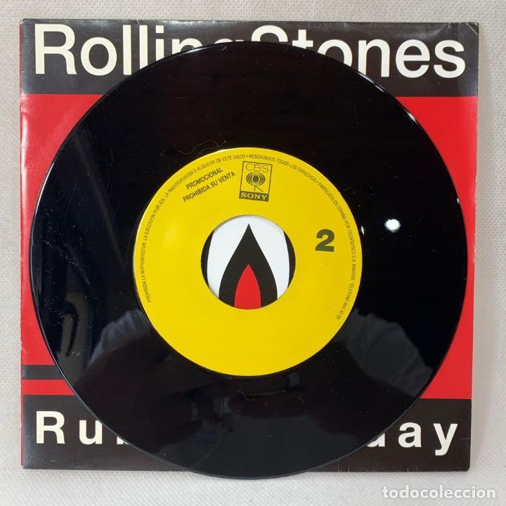 Discos de vinilo: SINGLE THE ROLLING STONES - RUBY TUESDAY - ESPAÑA - AÑO 1991 - Foto 3 - 260735180