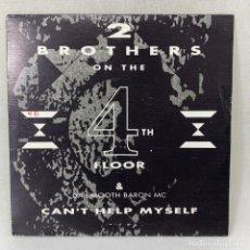 Disques de vinyle: SINGLE 2 BROTHERS ON THE 4TH FLOOR & DA SMOOTH BARON MC - CAN'T HELP MYSELF - ESPAÑA - AÑO 1991. Lote 260736560