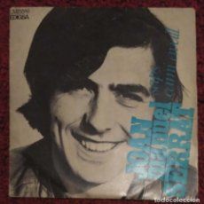 Discos de vinilo: JOAN MANUEL SERRAT (SAPS / CAMI AVALL) SINGLE 1969. Lote 260738535