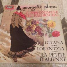 Discos de vinilo: GEORGETTE PLANA–L'HIRONDELLE DES FAUBOURGS. EP VINILO 1968. Lote 260742835