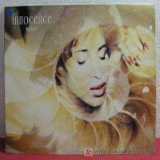 Discos de vinilo: INNOCENCE ( BELIEF ) 1990 LP33. Lote 260781865