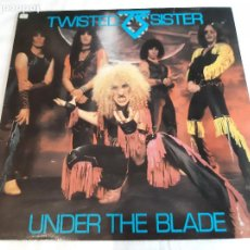 Dischi in vinile: TWISTED SISTER -UNDER THE BLADE- (1982) LP DISCO VINILO. Lote 260789205