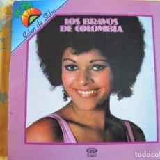 Disques de vinyle: LP - LOS BRAVOS DE COLOMBIA - SABOR DE SALSA (SPAIN, MOVIEPLAY 1981). Lote 260802770