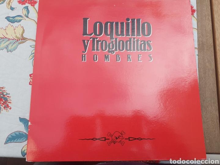 LP LOQUILLO Y TROGLODITAS HOMBRES (Música - Discos - LP Vinilo - Grupos Españoles de los 90 a la actualidad)