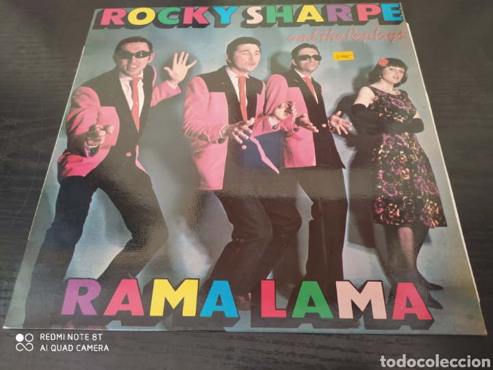 RICKY SHARPE. RAMA LAMA. (Música - Discos - LP Vinilo - Rock & Roll)