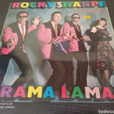 Disques de vinyle: RICKY SHARPE. RAMA LAMA.. Lote 260804600