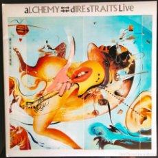 "Discos de vinilo: DISCO LP VINILO ""ALCHEMY"". DISCO EN DIRECTO DE DIRE STRAITS, 1984.. Lote 260810005"