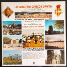 """Discos de vinilo: DISCO LP VINILO """"LA SARDANA, CANÇO I DANSA"""" DE LA COBLA CIUTAT DE GIRONA, 1992.. Lote 260813375"""