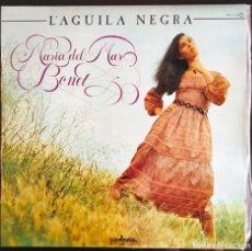 "Discos de vinilo: DISCO LP VINILO ""L'AGUILA NEGRA"" DE MARIA DEL MAR BONET, 1981.. Lote 260813940"