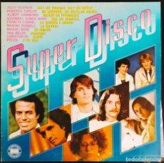 """Discos de vinilo: DISCO LP VINILO DOBLE RECOPILATORIO MÚSICA EN ESPAÑOL DE 1980 """"SUPER DISCO"""".. Lote 260815825"""