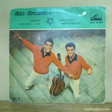 Discos de vinilo: DÚO DINÁMICO - ROGAR, BYE BYE LOVE, BABY ROCK, LINDA MUÑECA. Lote 260819495