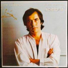 "Discos de vinilo: DISCO LP VINILO ""TAL COM RAJA"" DE JOAN MANUEL SERRAT, 1980.. Lote 260820060"