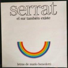 """Discos de vinilo: DISCO LP VINILO """"EL SUR TAMBIÉN EXISTE"""" DE JOAN MANUEL SERRAT, 1985.. Lote 260820410"""