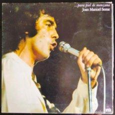 """Discos de vinilo: DISCO LP VINILO """"... PARA PIEL DE MANZANA"""" DE JOAN MANUEL SERRAT, 1975.. Lote 260820785"""