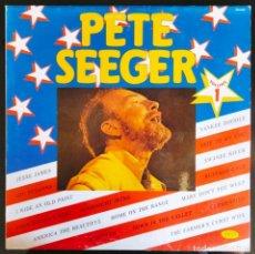 "Discos de vinilo: DISCO LP VINILO RECOPILATORIO ""PETE SEEGER - VOLUME 1"", 1983.. Lote 260834835"