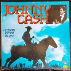 "Discos de vinilo: DISCO LP VINILO RECOPILATORIO ""JOHNNY CASH - FOLSOM PRISON BLUES - VOLUME 2"", 1984.. Lote 260841490"