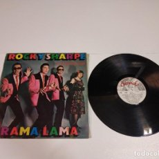 Discos de vinilo: 0521- ROCKY SHARPE & REPLAYS RAMA LAMA VIN LP POR G DIS VG SPAIN 1979. Lote 260850065