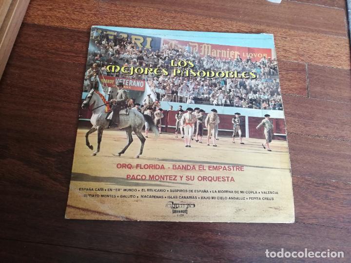 LOS MEJORES PASODOBLES-ORQ. FLORIDA, BANDA EL EMPASTRE, PACO MONTEZ Y SU ORQUESTA. LP (Música - Discos - LP Vinilo - Orquestas)