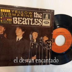 Discos de vinil: THE BEATLES. EP FRANCÉS. YELLOW SUBMARINE-FOR NO ONE-ELEANOR RIGBY-GOOD DAY SUNSHINE. Lote 260857365