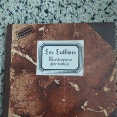 Discos de vinilo: DOBLE LP LES LUTHIERS. Lote 260861545